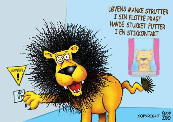 manken til løven